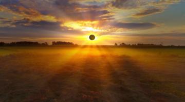 Солнечное затмение в Водолее 2018